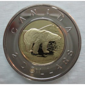 2005 Canadian $2 Polar Bear (Brilliant Uncirculated)