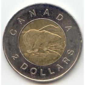 2009 Canadian $2 Polar Bear (Brilliant Uncirculated)
