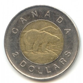 2011 Canadian $2 Polar Bear (Brilliant Uncirculated)