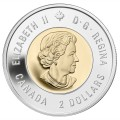 2014 Canadian $2 Wait for Me, Daddy Remembrance Toonie Original Coin Roll