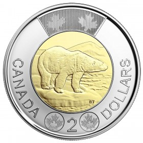 2018 Canadian $2 Polar Bear Toonie Coin (Brilliant Uncirculated)