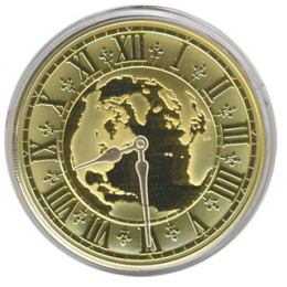 2005 Canada 14-karat Gold $300 Coin - Canadian Achievements: Newfoundland Time (8:30)
