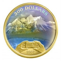 2007 Canada 14-karat Gold $300 Coin - Panoramic Photography