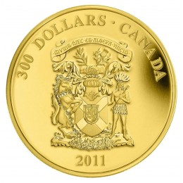 2011 Canada 14-karat Gold $300 Coin - Nova Scotia Coat of Arms