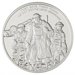 2006 Canada Sterling Silver $30 Coin - National War Memorial