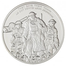 2006 Canadian $30 National War Memorial Proof Sterling Silver Coin