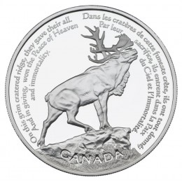 2006 Canada Sterling Silver $30 Coin - Beaumont-Hamel Newfoundland Memorial