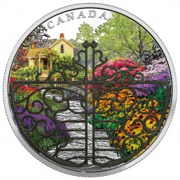 2017 Canada Fine Silver $30 Coin - Gate to Enchanted Garden