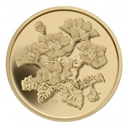 2011 Canada Pure Gold $350 Coin - Mountain Avens