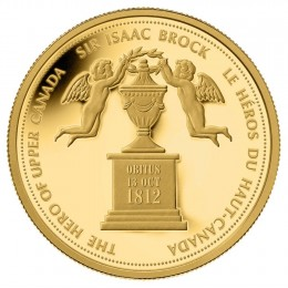 2012 Canada Pure Gold $350 Coin - Sir Isaac Brock