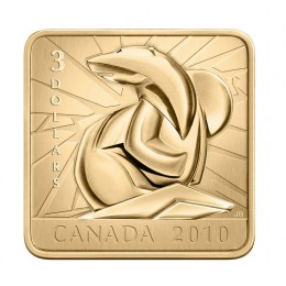 2010 Canada Fine Silver $3 Coin - Wildlife Conservation Series: Polar Bear