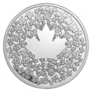 2013 Canada Fine Silver $3 Coin - Maple Leaf