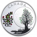 2018 Canadian $3 The Thirteen Teachings From Grandmother Moon: Flower Moon - Fine Silver Coin
