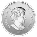 2012 (1952-) Canadian 50 Cents The Queen's Diamond Jubilee Silver-plated Coloured Coin