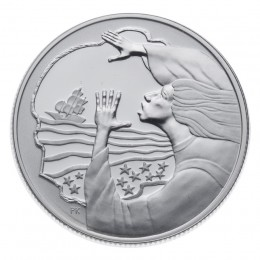 2001 Canada Sterling Silver 50 Cent Coin - Folklore & Legends: The Maiden's Cove