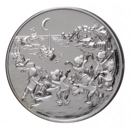 2001 Canada Sterling Silver 50 Cent Coin - Folklore & Legends: Les Petits Sauteux