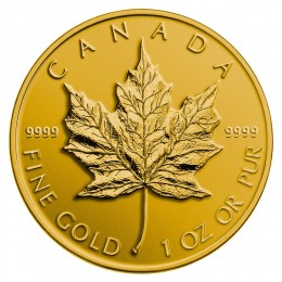 2014 Canada Pure Gold $50 Coin - Maple Leaf