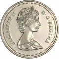 1988 Canadian 5-Cent Beaver Nickel Coin (Brilliant Uncirculated)