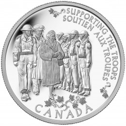 2014 Canada Fine Silver $5 Coin - Princess to Monarch