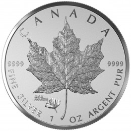 2016 Canada 1 oz Fine Silver $5 Coin - ANA California State Flower: The Poppy