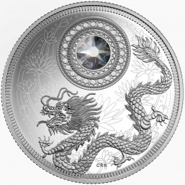 2016 Canada Fine Silver $5 Coin - Birthstone Series: April