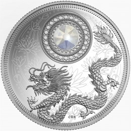 2016 Canada Fine Silver $5 Coin - Birthstone Series: June