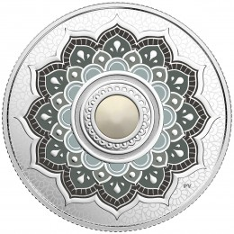 2018 Canadian $5 Birthstones: June Swarovski® Crystal & Silver Coin