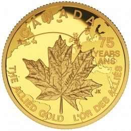 2015 Canada Pure Gold $75 Coin - The Allied Gold