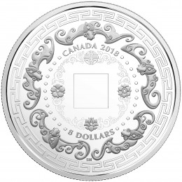 2018 Canadian $8 Good Luck Charms: Five Blessings - Fine Silver Coin