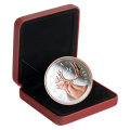 2018 Canadian 25-Cent Big Coin Series: Caribou - 5 oz Fine Silver & Rose Gold-plated Coin