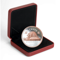 2018 Canadian 5-Cent Big Coin Series: Beaver 5-ounce Fine Silver & Rose Gold-plated Coin