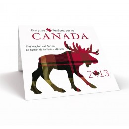 2013 Canadian 50-Cent Everyday Canada: The Maple Leaf Tartan - Commemorative Coin Gift Set