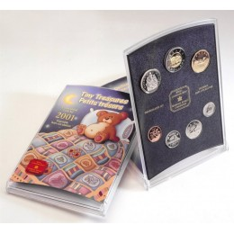 2001 Canada Tiny Treasures Coin Gift Set