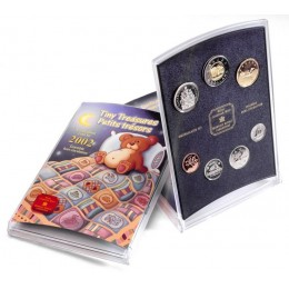 2002 Canada Tiny Treasures Coin Gift Set