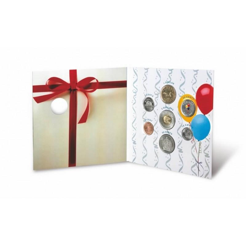 2007 Canada Birthday Coin Gift Set