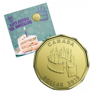 2018 Canada Birthday Coin Gift Set