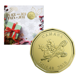2018 Canadian Holiday 5-Coin Gift Set ft Special Loonie Dollar