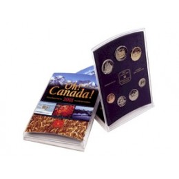 2001 Oh! Canada Coin Gift Set