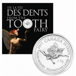 2011 Canada Tooth Fairy Coin Gift Card & Set