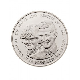 1983 Canada Sterling Silver Commemorative Medallion - The Prince and Princess of Wales