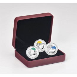 2011 Canada Sterling Silver 25-Cent 3 Coin Set - Our Legendary Nature
