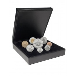 2001 Canadian Premium Proof Set with 1 oz Fine Silver $5 Maple Leaf