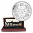 2011 (1911-) Canadian 6-Coin 100th Anniversary of the Silver Dollar Proof Set (Special Edition)