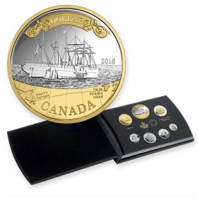 2016 Canada Fine Silver Proof Set - 150th Anniversary of the Transatlantic Cable