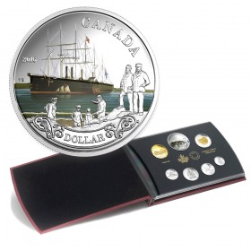 2016 Canada Special Edition Silver Dollar Proof Set - 150th Anniversary of the Transatlantic Cable