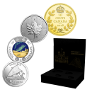 2018 Canadian State-of-the-Art 4-Coin Set