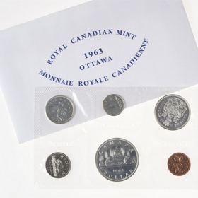 1963 Canada Silver Proof-Like (PL) Collector Set