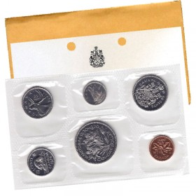 1970 Canadian 6-Coin Brilliant Uncirculated (Proof-like) Collector Set