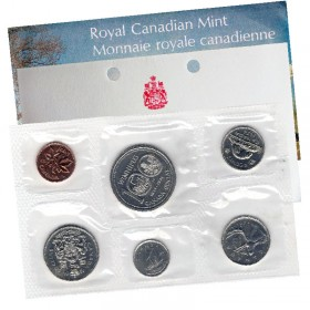 1974 Canadian 6-Coin Brilliant Uncirculated (Proof-like) Collector Set