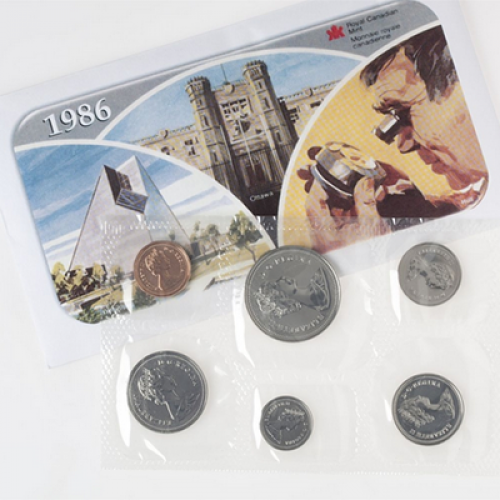 1986 Canadian Uncirculated Proof-Like Set